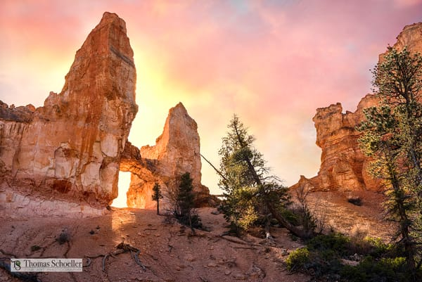 The Bryce Canyon NP Tower Bridge Arch/Fine Art photography prints by Thom Schoeller