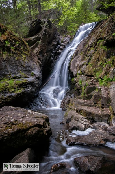 Waterfalls of the scenic Berkshires/Campbell Falls waterfall prints by Thomas Schoeller