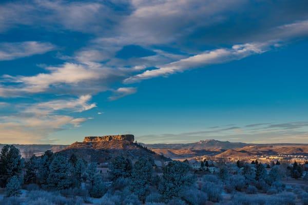 Late Autumn Snow Castle Rock Colorado
