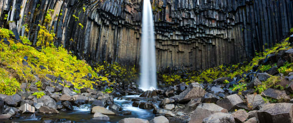 Svartifoss Panorama picture by Brad Scott
