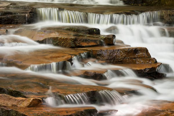 Waterfall Wall Art: Jonathan Run Steps