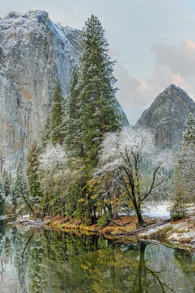 Yosemite Valley Dusting