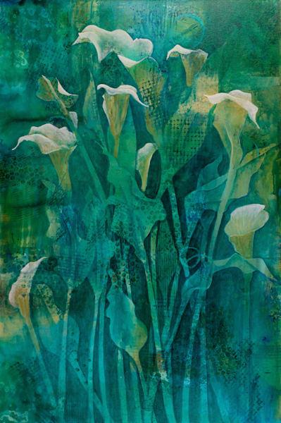 Calla Lilies I - Original
