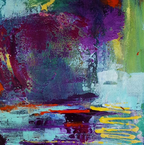 The Soul Will Find a Way abstract art by Christine Nye