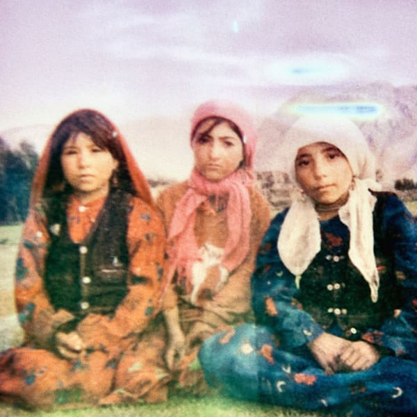 Wakhi Girls - Photography by Varial Cédric