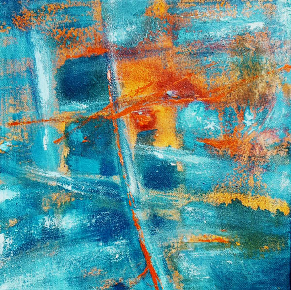 Joy in the Depths of the Soul 2 -Abstract Prints by Christine Nye