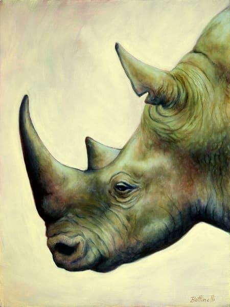 The Rhino - paper print