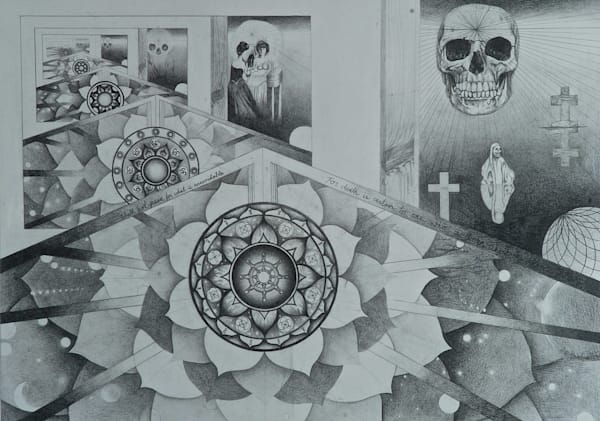 Death as a Mandala and a Fractal