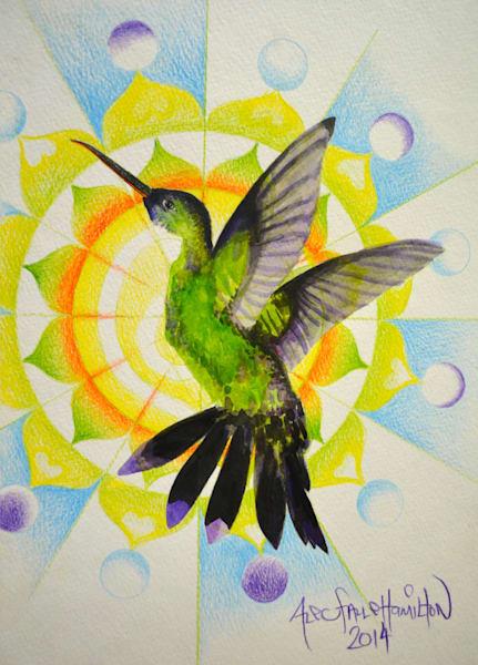 Hummingbird Mandala #1