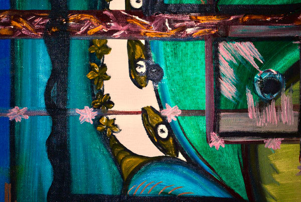 Odeta Xheka Visuals   Stunning art print of oil on canvas painting