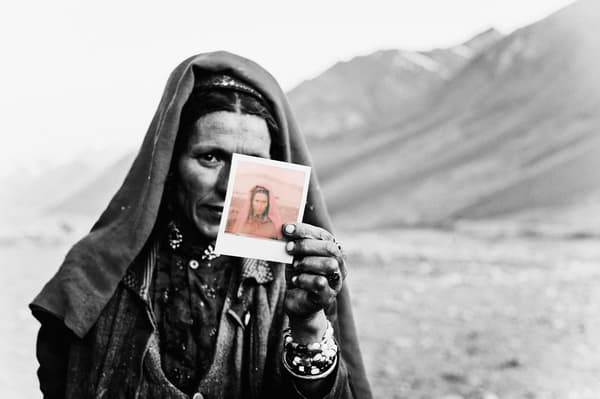 Wakhi Woman - Traces of Time - Photography by Varial