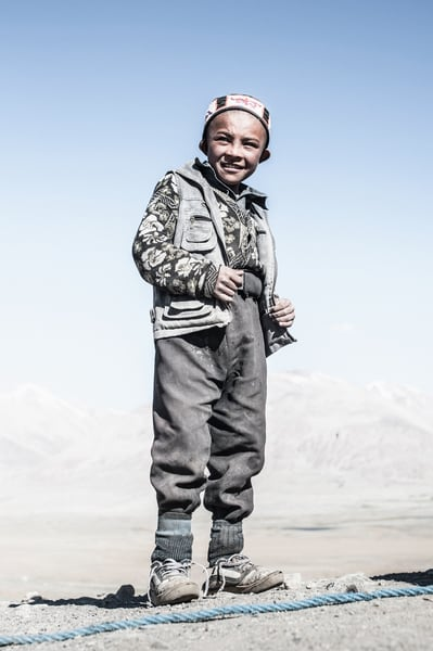 Kyrgyz Boy - Photography by Varial Cédric Houin