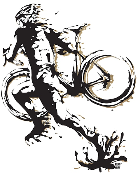 cyclocross mud splash print, cyclocross, cycling art, bike art, cyclist, mud splatter, motivational art,