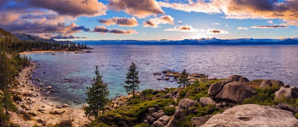 Heavenly Glow, Sand Harbor Lake Tahoe Photo Print