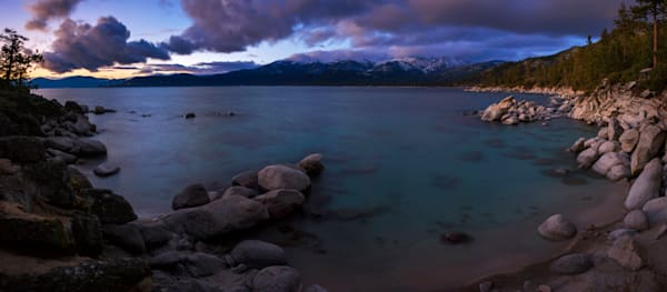 Tahoe Shore, East Shore Lake Tahoe Photo Art Print