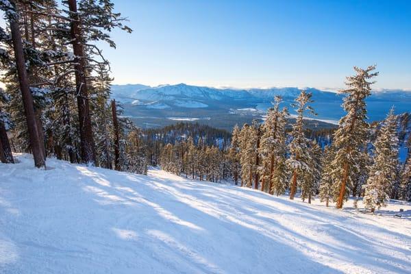 Ski Heavenly, Lake Tahoe Photo Print