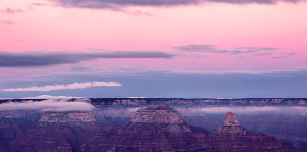 Sunset at Maricopa Point, Grand Canyon National Park Photo Print