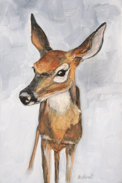 Fawn - paper print