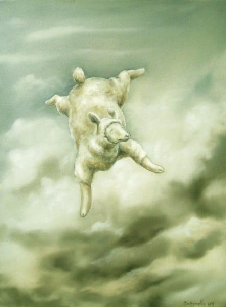 On Cloud Nine - paper print