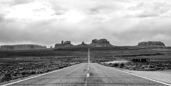 The Turnaround Highway 163 Monument Valley Print