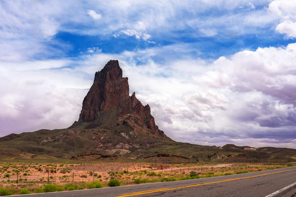 Castle Mountain, Monument Valley Fine Art Print
