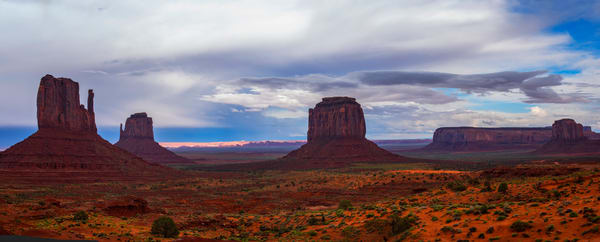 Monument Valley Panorama photo print