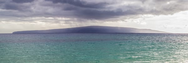 Storm over Lanai, Maui HI Fine Art Photo Print