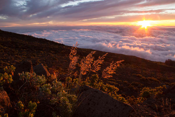 Haleakala Sunset, Maui Hawaii Fine Art Print