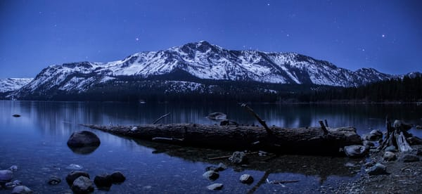 An Evening at Fallen Leaf Lake Photo Print
