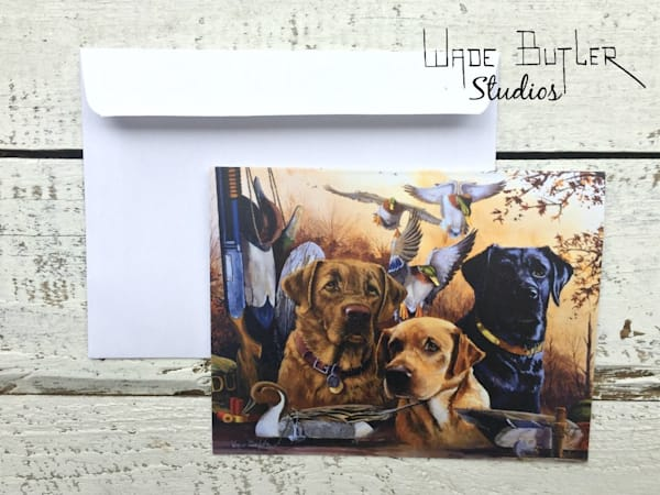 """Hunting Buddies"" Greeting Card Set"