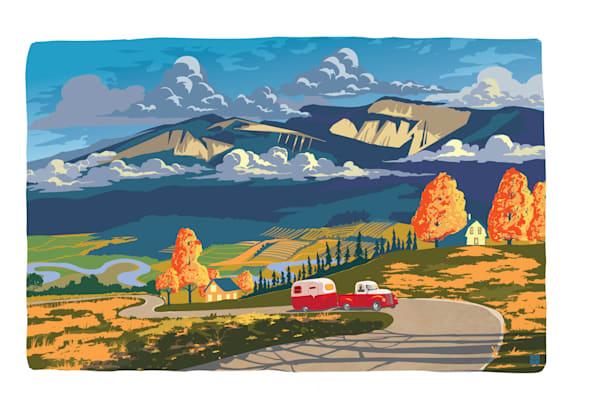 Enderby Cliffs art by Sassan Filsoof