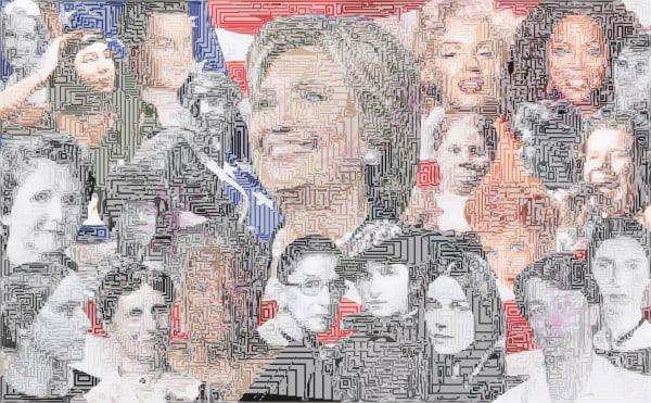 WOMEN Wall Art