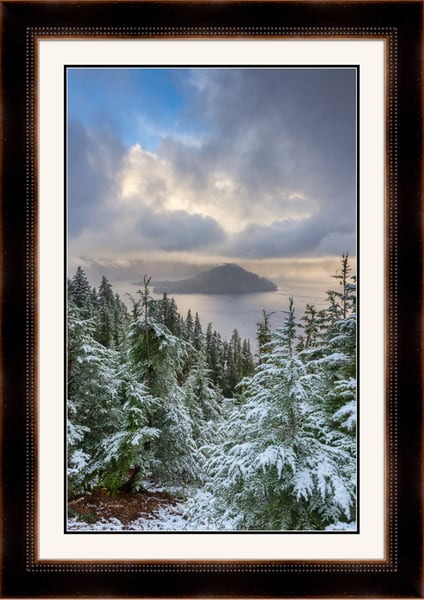 Wizard Magic (161536LNND8) Crater Lake National Park Oregon Photograph for Sale as Framed Fine Art Paper Print