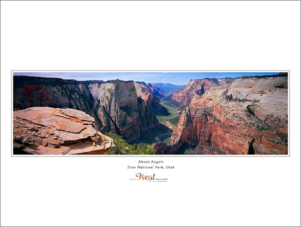 Above Angel's Landing