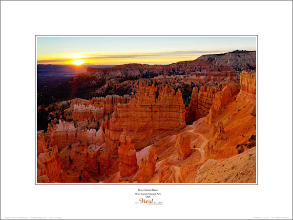Bryce Canyon Dawn Poster