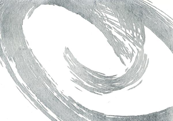 Silver Wave V by Karen Mayer | SavvyArt Market art print