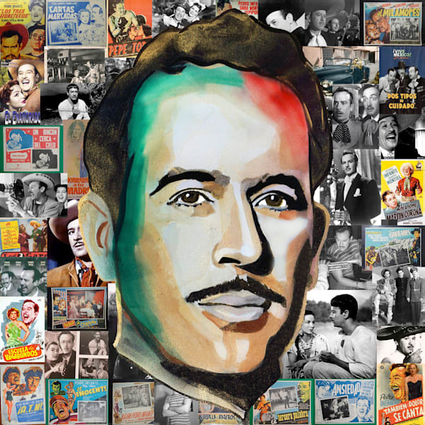 Pedro Infante Pop Art | William K. Stidham - heART Art