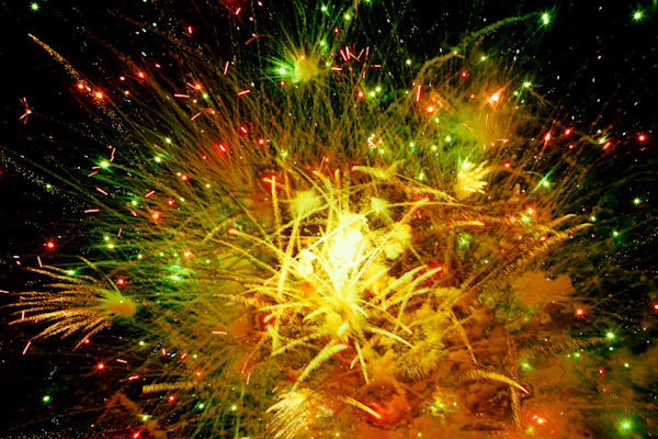 Happy New Year Fireworks