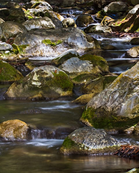 Rocky Hare Creek In Big Sur Photograph For Sale as Fine Art