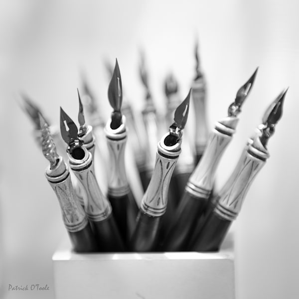 Ink Pens Photography Art | Patrick O'Toole Photography, LLC