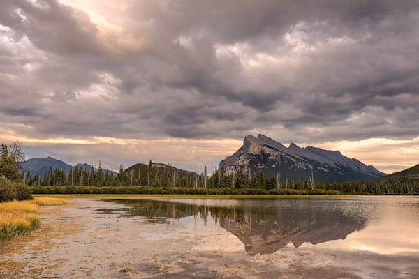 Mount Rundle Photograph for Sale as Fine Art.