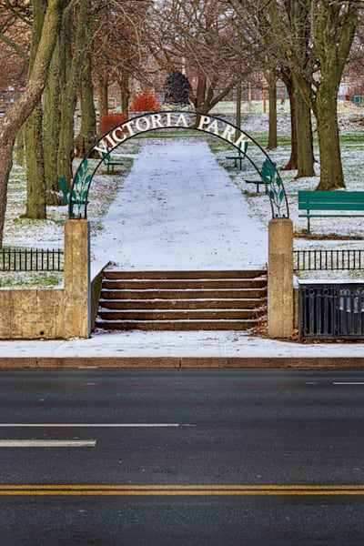 Victoria Park Snow