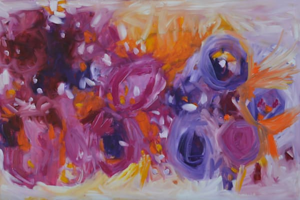 Pink Riot by Geraldine Gillingham | SavvyArt Market original painting