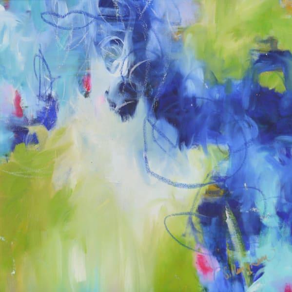 Blue Green I by Geraldine Gillingham | SavvyArt Market original painting