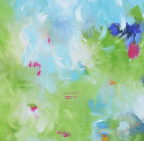 Blue Green II by Geraldine Gillingham | SavvyArt Market original painting