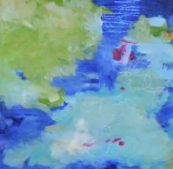 Blue Green IV by Geraldine Gillingham | SavvyArt Market original painting