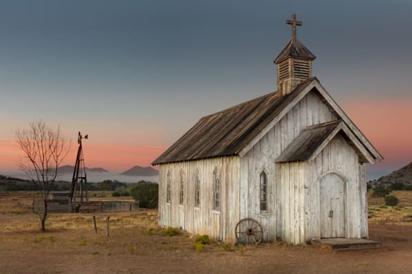 Chapel On The Prairie photograph for sale as art.