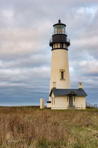 Yaquina Head Lighthouse II (161606BSND8) Oregon Lighthouse Photograph for Sale as Fine Art Print
