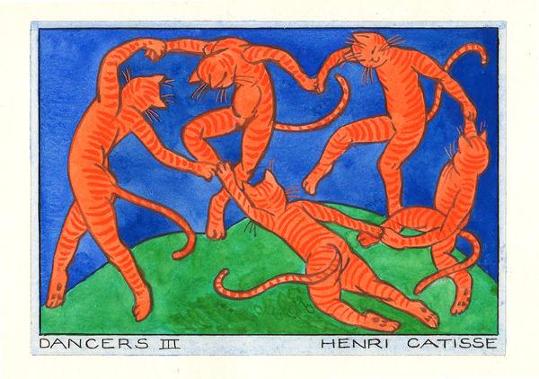 Dancers.III.Henri.Catisse