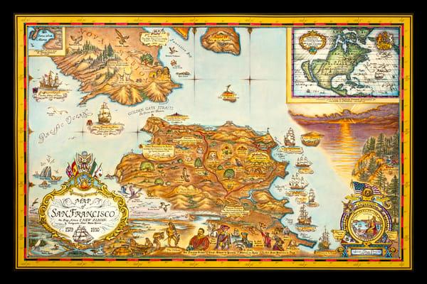 Blaise Domino | San Francisco Historical Map